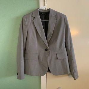 Zara Basic Gray Suit Jacket size 6